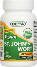 Deva Vegan St John's Wort USDA Organic 300 mg - 90 tablets