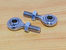 2X Chrome Shift Rod Shifter Linkage Swivel End ball socket for Harley Davidson
