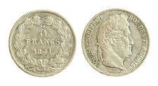 pcc1839_62) FRANCIA 5 francs Louis Philippe I 1841 W