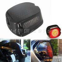 For Harley Dyna Road King FLST FXD Smoke LED Turn Signal Brake Light Tail Light
