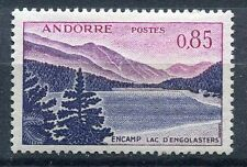 TIMBRE ANDORRE FRANCE NEUF  N° 163  *  LAC D ENGOLASTERS A ENCAMP