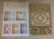 Anna Griffin Floral Gatefold Die Set Includes 4 Dies With Instructions