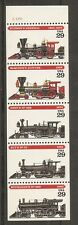 US SC # 2847a American Steam Locomotives. Unfolded. MNH