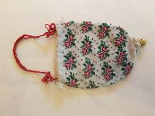 Antique Victorian Micro Bead Purse