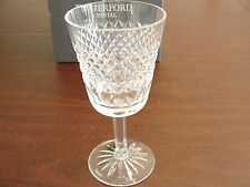 "WATERFORD CARA 4 WATER GLASSES 7"""