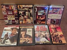 Western Movies John Wayne DVD Lot