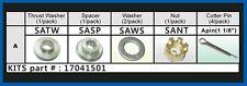 SOLAS Hardware Kit Suzuki 8-15 HP Fixed Hub A-Series Prop - 17041501