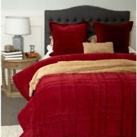 Angads Dmask 100/% Cotton Quilted Bedspread Set With Two Pillowcases in Sand