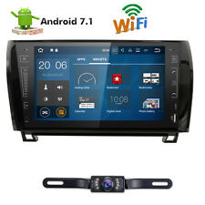 "9"" Android 7.1 Car GPS Player Navi Radio Stereo For Toyota Tundra Sequoia+Camera"