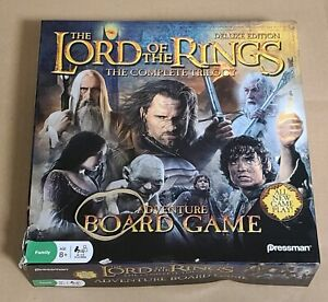 The Lord of the Rings Complete Trilogy Adventure Board Game Deluxe Edition NEW