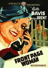 FRONT PAGE WOMAN - (1935 Bette Davis) Region Free DVD - Sealed