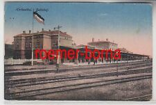 32435 Ak Herbesthal Bahnhof 1918