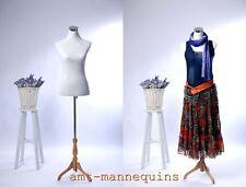 Female Mannequin Torso 2 Nylon Covers Black White Dress Form Mf 88