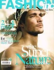 FASHION inc Magazine #03 DAVID GANDY Giorgio Armani Frida Giannini NEW