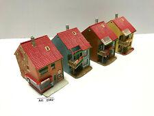 Faller B-224 H0 4 Reihenhäuser, Eckhaus mit Ladengeschäft,1:87, selten & RAR