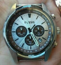 FOSSIL Miyota chronograph 10 ATM watch Beautiful  Japan movt,  working!!!