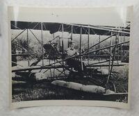 Curtiss 1911 Model E Headless Airplane Original 1940s Press Photo 8x10 Aviation