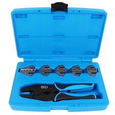 Kabelschuhzange mit 5 Paar Backen Quetschzange Kfz Werkzeug Zange Crimpen
