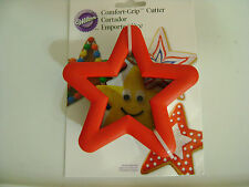 "WILTON STAR METAL COMFORT GRIP 4 1/2"" x 1 1/2"" COOKIE CUTTER /NEW"