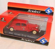 Solido 1:43 Metallmodell - 4166 - Citroen 15CV Pompiers - Neu in OVP
