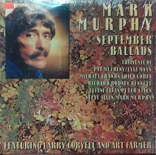"Mark Murphy - September Ballads 1988 Milestone 12"" 33 RPM LP (NM) Jazz"