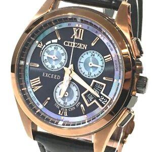 CITIZEN BY0062-08E Direct flight Exceeds Limited 500pcs Eco Drive Wristwatch