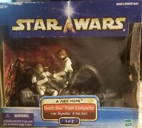 Star Wars RARE Death Star Trash Compactor Luke Skywalker & Han Solo 1 Of 2 MIB