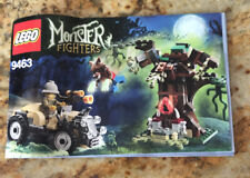 Lego Monster Fighters 9463 The Werewolf  Instruction Booklet Only Manual