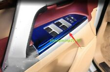 Blue window switch panel cover Tirm For Toyota Land Cruiser LC200 2008-2018