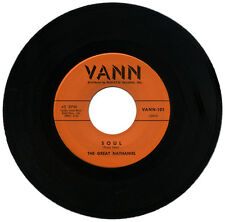 "THE GREAT NATHANIEL  ""SOUL c/w LOST""  KILLER R&B / POPCORN RARITY    LISTEN!"