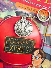 Harry Potter Platform 9 3/4 Silver Keyring Birthday Christmas Gift