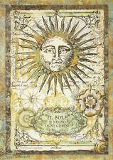 Carta di riso per Decoupage Decopatch Scrapbook Craft sheet alchimia Sun