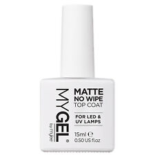 MYGEL by Mylee Matte No Wipe Clear Top Coat 15ml for UV LED Gel Nail Polish