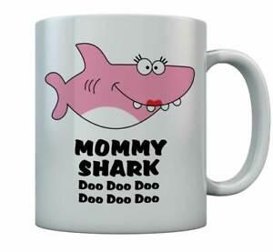 Mommy Shark Doo doo doo Coffee Mug For Mother Gift For Mom Birthday Mug Funny
