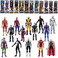 12'' The AVENGERS Marvel Hero Wolverine Ironman Spiderman Thor Action Figure Toy