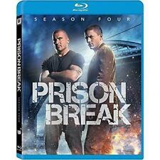Prison Break - Season 4 (Blu-ray Disc, 2016, 6-Disc Set, Canadian)