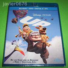 UP DISNEY PIXAR COMBO BLU-RAY + DVD NUEVO PRECINTADO