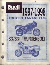 BUELL Teile Buch 1997-1998 Thunderbolt S3 S3T 99570-98Y