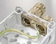 WISKA EARTHING CLAMP + COMBI 308 WEATHERPROOF BOX