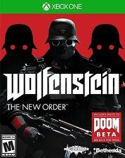 NEW Wolfenstein: The New Order (Microsoft Xbox One, 2014)