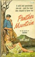 PANTHER MOUNTAIN John Brick (1960) Pop Lib sleaze pb