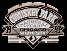 Chicago White Sox Baseball Pin Badge ~ MLB ~ Comiskey Park ~ Inaugural Year 1991