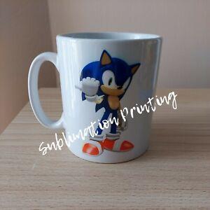 Sonic The Hedgehog Personalised 11oz Mug