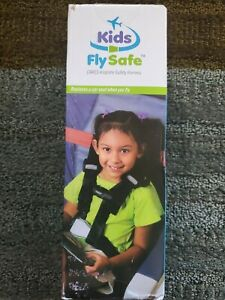 Kids Fly Safe Airplane Safety Harness Airline Cares Award Winning FAA Approved
