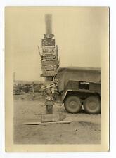 Org. Foto 1941 Taktische Zeichen  Wikinger Panzer