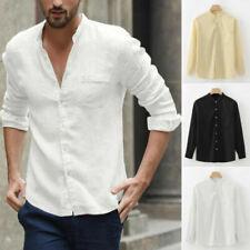 Camicie casual e maglie da uomo senza marca a lunghezza della manica manica lunga