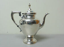 """Vintage Wallace Sterling Silver 2 3/4 Pint Coffee Pot """"Coventry"""" Pattern #365"""