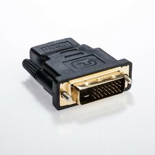 HDMI auf DVI Adapter | HDMI A Buchse zu DVI Stecker | Kontakte vergoldet