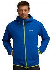 Regatta Evitts Mens Waterproof Breathable Isotex 5000 Stretch Jacket Blue XXXL