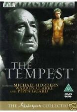 The Tempest DVD Michael Hordern BBC Shakespeare Collection DVD New UK Release R2